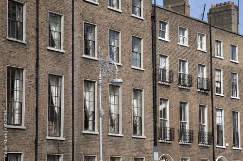 Georgian Architecture, Mount Street Upper, Dublin Poster