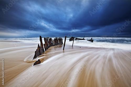 Foto op Canvas Australië SS Dicky wreck