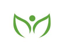 Lotus Leaves Logo