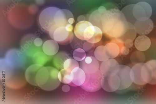 Photo  Smooth abstract colorful background