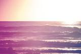Vintage summer sunrise surfing - 81311097