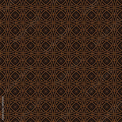 Fotografie, Obraz  Seamless gothic vector pattern