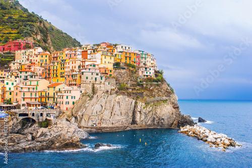 Fotografie, Obraz  Village of Manarola, Cinque Terre, Italy