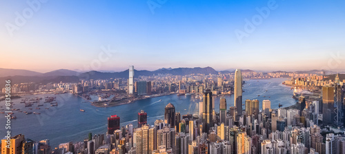 Cuadros en Lienzo Hong Kong city scenes