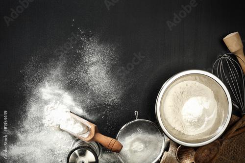 Fotografie, Obraz  flour