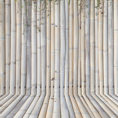 old bamboo fence ,background