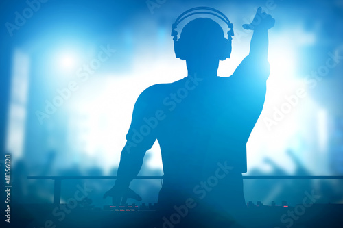 club-disco-dj-playing-and-mixing-music-for-people-nightlife