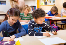 Schüler Schreiben Test