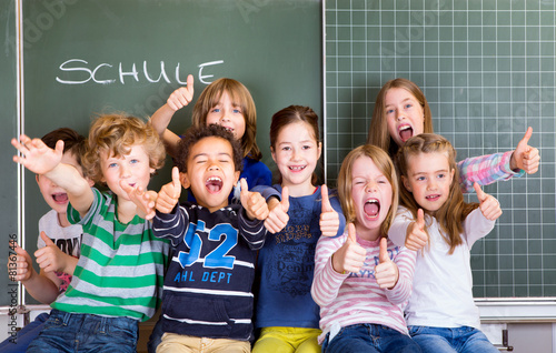 Fotografía  Einschulung Freude Kinder Schulkinder