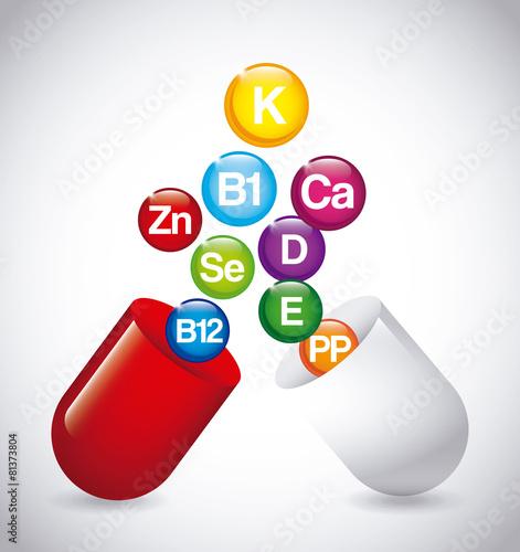 Fotografia  nutrition supplements