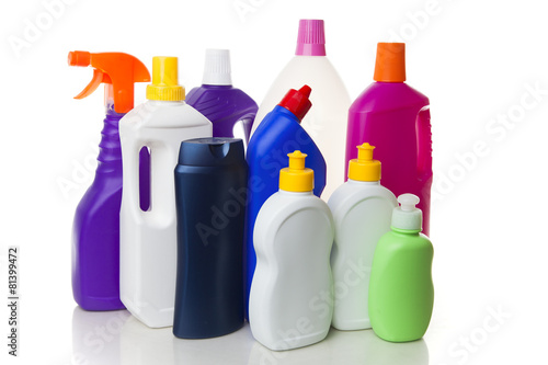 Fotografia, Obraz  Multiple house cleaning products