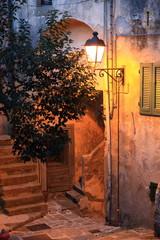 Panel Szklany Toskania Toscana,Isola d'Elba,strada di Marciana.