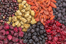 Healthy Dried Superfruit Berries