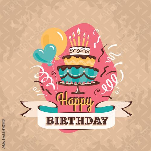vintage-urodzinowa-kartka-z-kolorowym-tortem-swieczkami-i-balonami