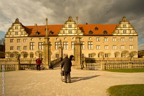 Keuken foto achterwand Canada Schloss Weikersheim vom Park aus