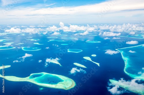 Maldives Indian Ocean Canvas Print