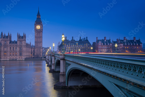 Foto op Canvas Londen London landmark Big Ben