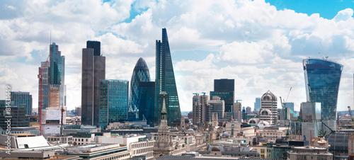 Poster London LONDON, UK - AUGUST 16, 2014: City of London