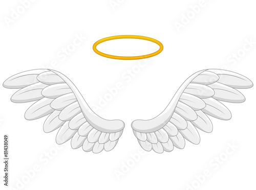 angel wings cartoon