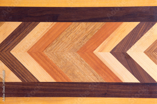Valokuva  Decorative marquetry on a cutting board