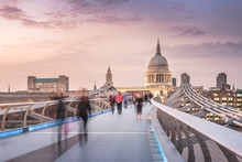 The Millennium Bridge To The S...