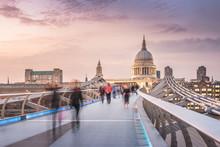 The Millennium Bridge To The S...