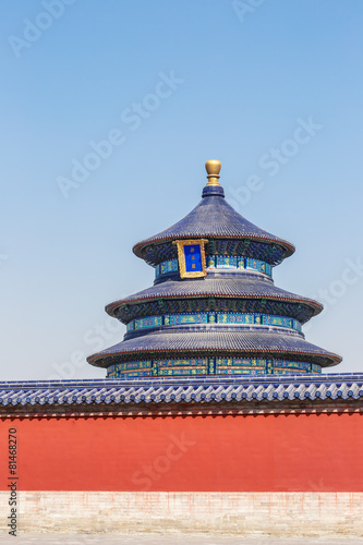 Foto op Aluminium Beijing Beautiful Scene of Temple of Heaven, Beijing,China.