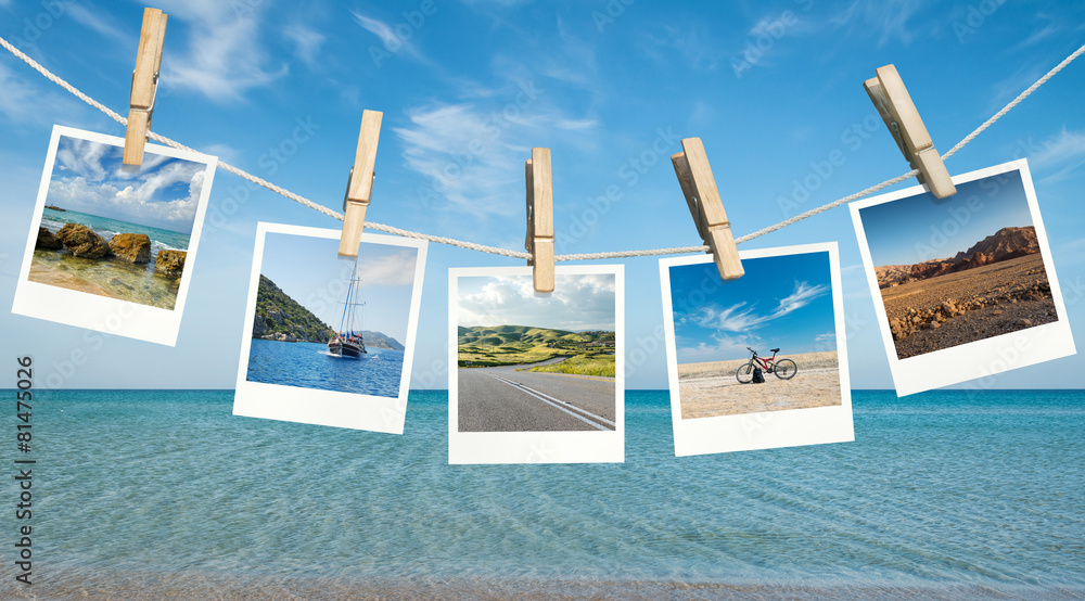 Fototapeta Summer vacation ideas
