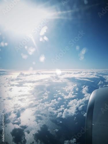 Fototapeta Voyager avion