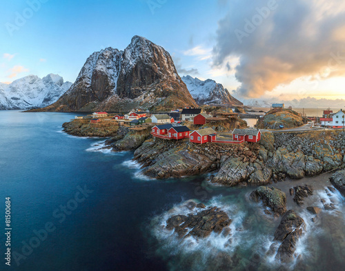 Cadres-photo bureau Europe du Nord fishing towns in norway