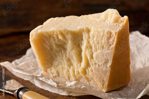 Staande foto Zuivelproducten Parmesan Cheese