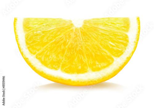 Foto op Aluminium Vruchten lemon slices
