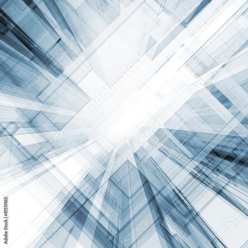 Staande foto Industrial geb. Abstract 3d