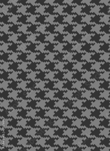 Photo  Houndstooth seamless vector pattern