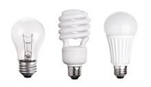 Set Of Light Bulb LED  CFL Flu...