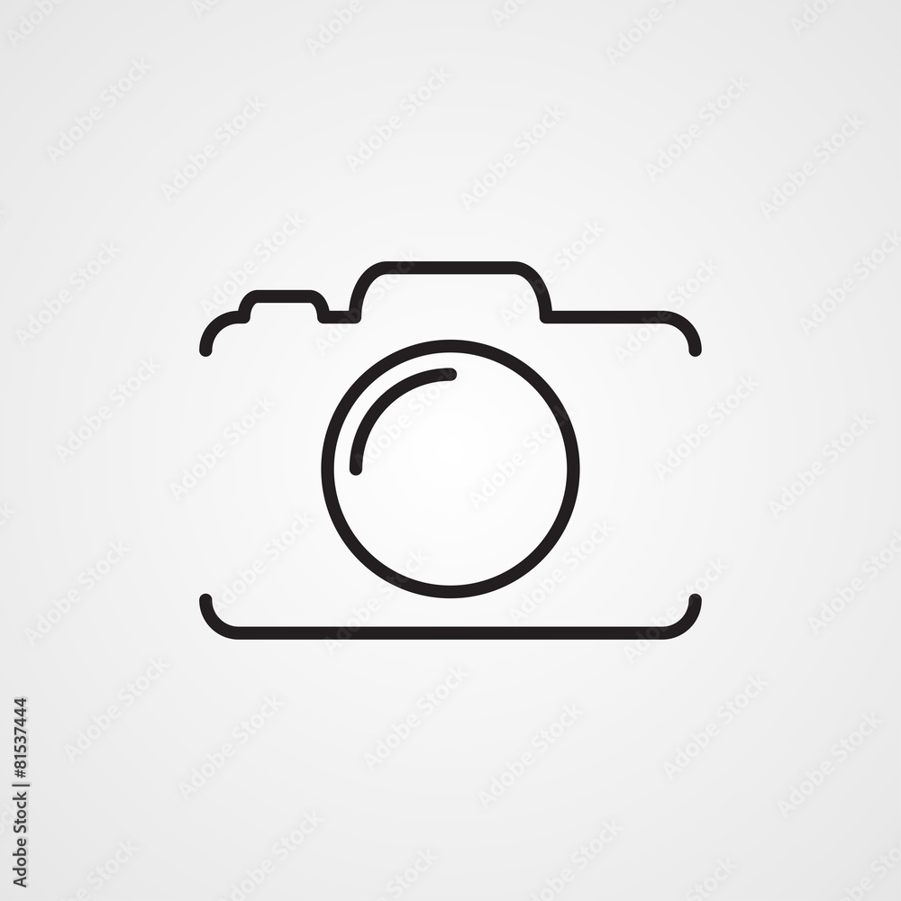 Fototapety, obrazy: Photo camera icon
