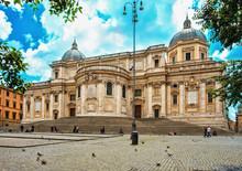Santa Maria Maggiore, Roma, Italy.