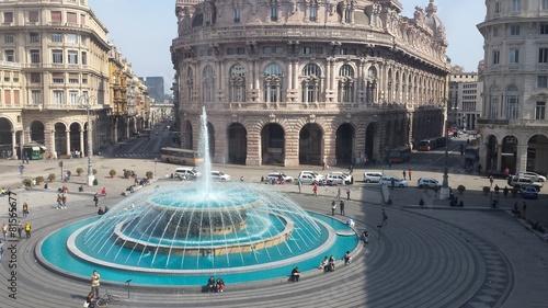 Fotografia  Genova Fontana Blu Liguria Italia