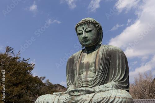 Foto op Plexiglas Japan Daibutsu - famous Great Buddha in Kamakura,Japan.