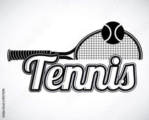 Tennis design - 81571098