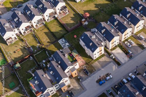aerial view of wroclaw city suburbs © mariusz szczygieł
