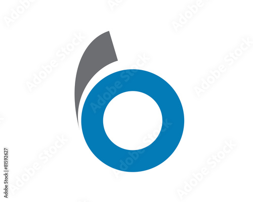 Fotomural  B Circle Logo