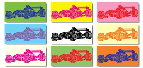 Fototapeta Voiture de course Formule 1