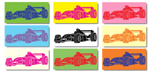 FototapetaVoiture de course Formule 1