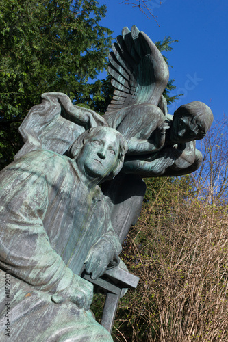 Photo  sculptures in Orsted park