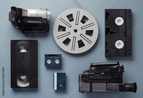 Fotografia, Obraz Old video technology