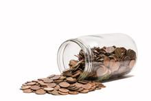 Spilled Penny Jar