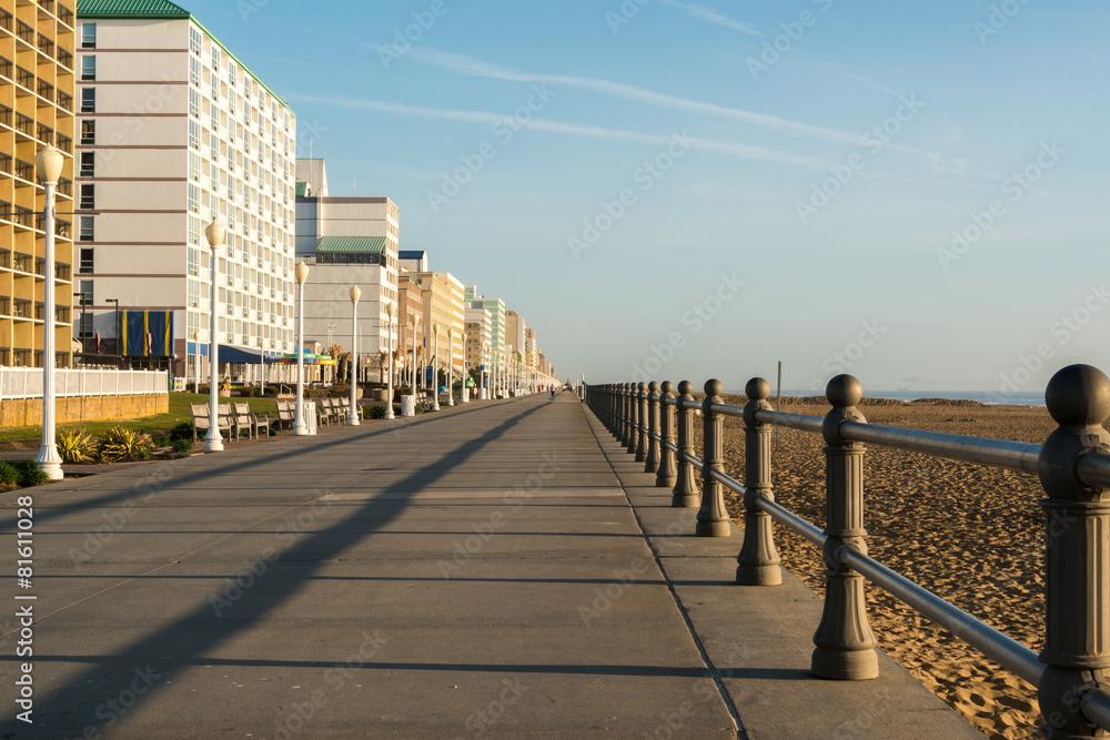 Fototapety, obrazy: Early Morning on Virginia Beach