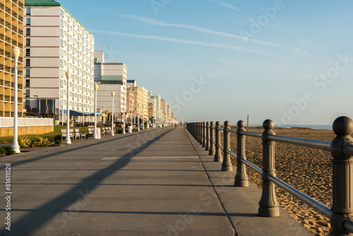 Fotografie, Obraz  Early Morning on Virginia Beach