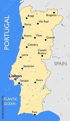 mapa-portugalii-kartografia-geografia-ocean-atlantycki